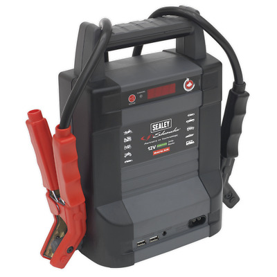 SL2S Sealey Jump Starter Power Pack Lithium(LiFePO4) 800Amp Mobile Power Systems