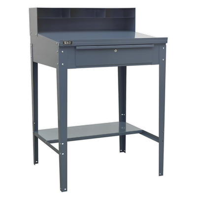AP875 Sealey Industrial Workstation 1 Drawer - Grey Workbenches