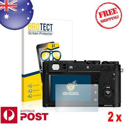 2x BROTECT® HD-Clear Screen Protector for Fujifilm X100F - P039AF