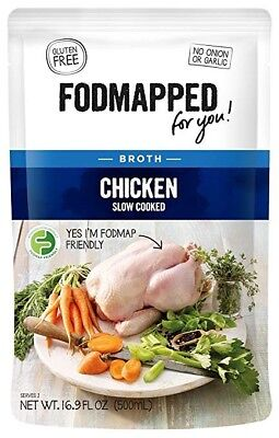 FODMAPPED Slow Cooked Chicken Stock (500ml)