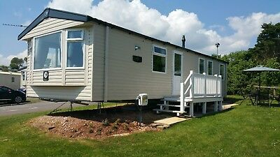2019 Holiday Deposit - Haven Devon Cliffs New 2018 Prestige 3B Caravan For Hire
