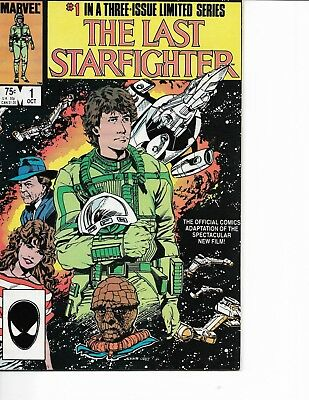 The Last Starfighter #1, #2 &#3, 1984, 3-Issue Limited Series, Marvel