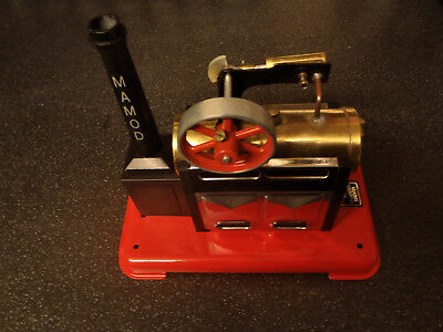 Mamod Steam Engine Sp2 Boxed In Excellent Condition