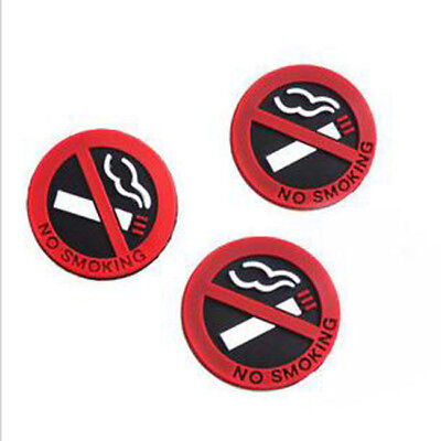 No Smoking Warning Sign Labels Soft Decals Car Office Factory Restaurant Sign LG