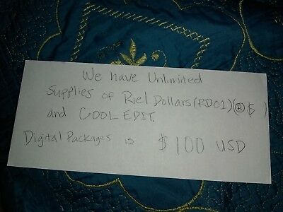 Riel Dollars Resellers License and Cool Edit