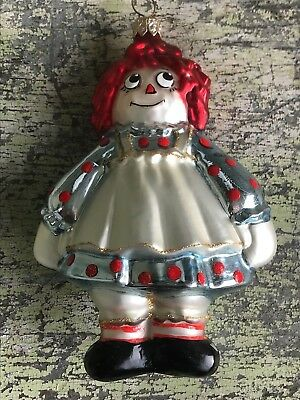 Polonaise Kurt S. Adler Raggedy Ann Collection Christmas Ornament