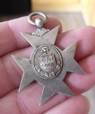 Unmarked Silver Prize 1875 Medal, Fob N.c.o 25Th L.a.v. Sergt. Drummond.