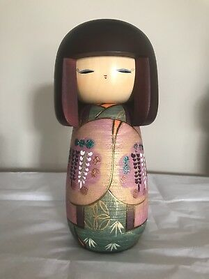 Authentic Japanese Kokeshi Wooden Doll