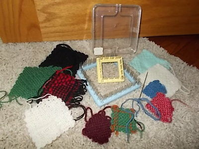 Vintage Weave It Looms Lot Of 3 Two 4 One 2 W Needles