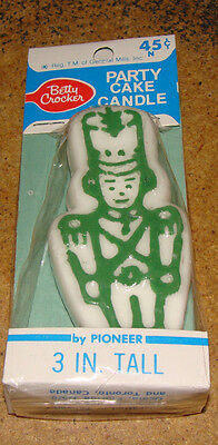 Vintage Betty Crocker Party Cake Toy Soldier