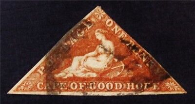 nystamps British Cape of Good Hope Stamp # 36 Used $1050