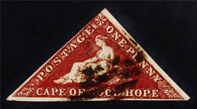 nystamps British Cape of Good Hope Stamp # 12 Used $270