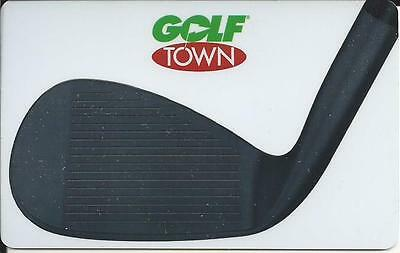 New Golf Town Mint Gift Card From Canada Bilingual No Cash Value