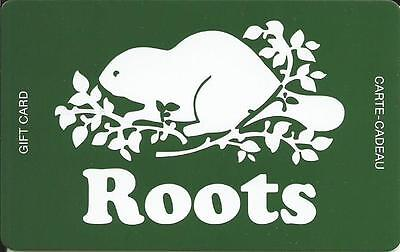 New Roots Mint Gift Card From Canada Bilingual  # 2 No Cash Value