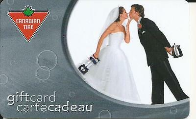Mint Gift Card From Canadian Tire Canada Bilingual 11/04  No Cash Value # 21