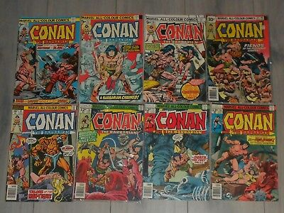 Lot Of 11 Conan The Barbarian Marvel Comics . # 53 To # 93