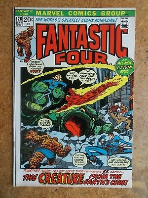 Fantastic Four #126 - FF #1 Cover Swipe - Origin retold - High Grade VF/NM (9.0)
