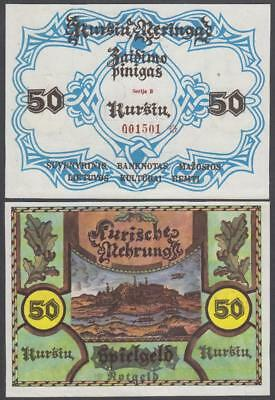 ND Lithuania Notgeld 50 Pinigas (XF)