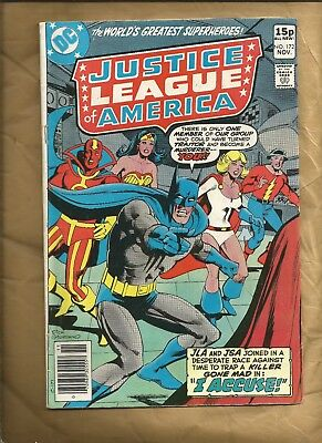 Justice League of America #172 1979 Power Girl British cover price DC comics
