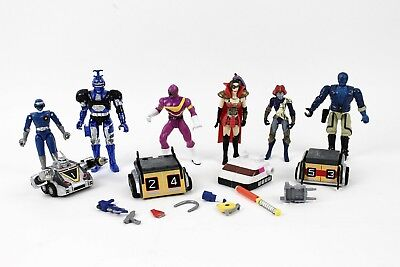 Large Lot of Misc Power Rangers? Bandai Figures & Accessories Bad Guys? Vintage