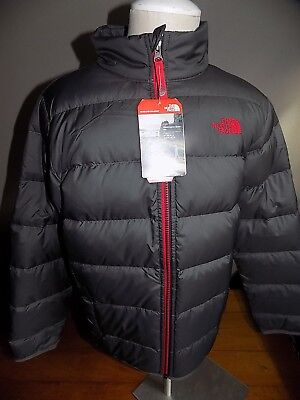 """NWT The North Face Boy's Andes 550 Down """"Puffer"""" Jacket Coat LARGE Free Shipping"""