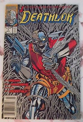Deathlok #1 (July 1991, Marvel) very fine was stored bagged and boarded
