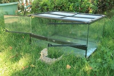 Exo Terra Glass Terrarium 12 By 12 By 12 Inch New Free Shipping