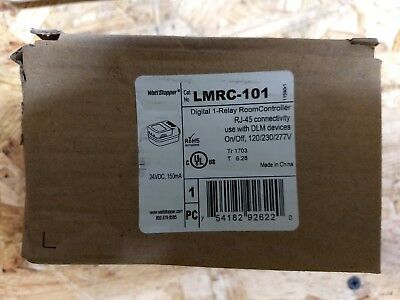 LMRC-101 - LMRC-100 Series Digital Room Controllers include one RELAY
