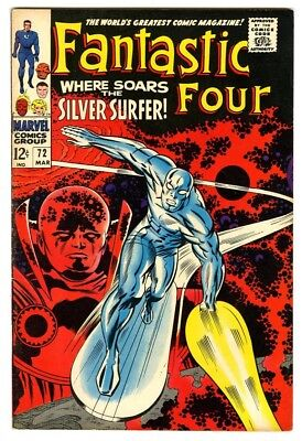 Fantastic Four #72 (1968) F/VF New Marvel Silver Bronze Collection