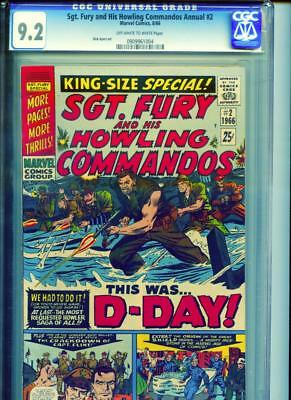 Sgt. Fury & His Howling Commandos Annual #2 D-Day War Dick Ayers Art