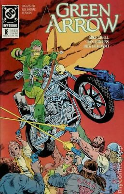 Green Arrow (1st Series) #18 1989 NM Stock Image