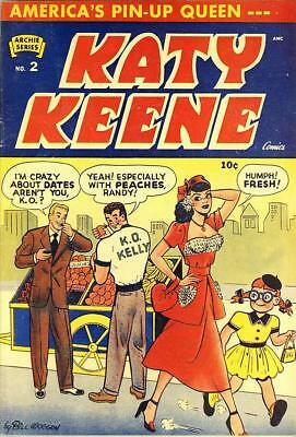 Katy Keene #2 Photocopy Comic Book, MLJ Archie Publications