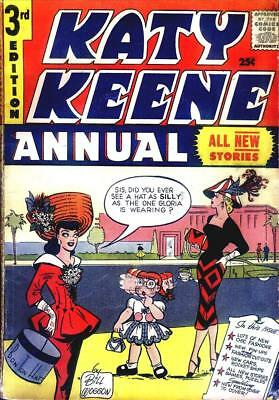 Katy Keene Annual #3 Photocopy Comic Book, MLJ Archie Publications 96 Pages