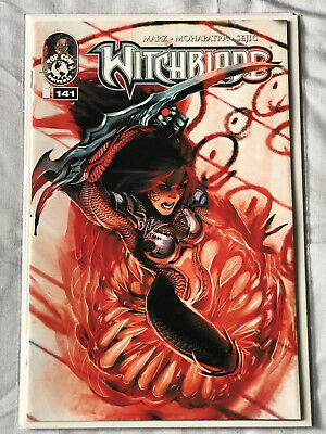 Witchblade 141 (2011) by Ron Marz and Stjepan Sejic from TopCow Image Comics