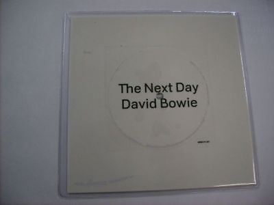 "David Bowie - The Next Day - Brand New 7"" Shaped Disc 2013"