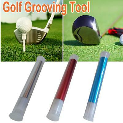 Stainless Golf Club Cleaning Cutter Golf Club Head Grooving Tool Golf Accessory