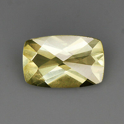 "2.2Ct Lemon Citrine ""Irregular-Rect"" Precious Faceting MQLC254"