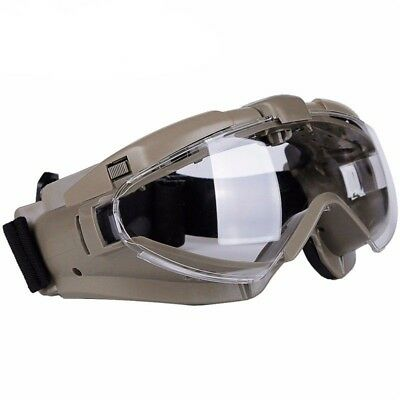 Airsoft Tactical Anti Fog Goggles Shooting Eye Safety Protective Glasses Militar