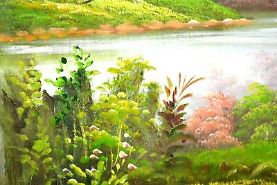 Rare Exquisite Chinese Handwork PAINT Forest Famous Hand-Painted Oil Painting