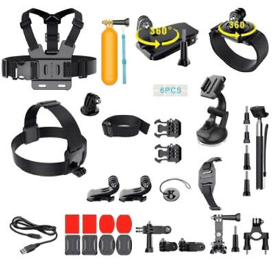 36 in1 Accessories Kit for GoPro Hero 6/5/4//3/2/1 Action Cameras(36 Pieces)