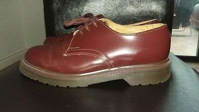 Dr Martens  oxblood shoes. Skinhead..Scooter boy  IMMACULATE!