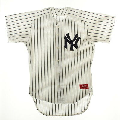 Rawlings New York Yankees Baseball MLB Jersey Herren Shirt NY Trikot Retro-L