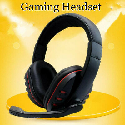 3.5mm Gaming Headset Stereo Surround Headphone Wired w/Mic For PS4 Xbox ONE CHZ
