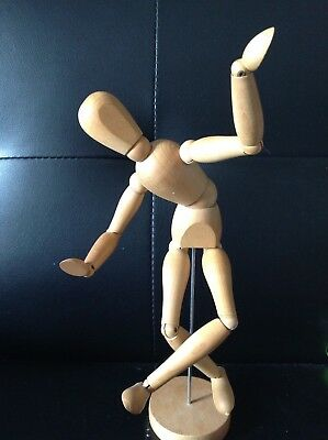 Wooden Artist Art Mannequin Model Drawing Sketching Figure Jointed Doll Human
