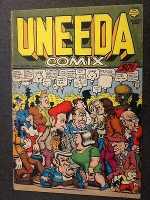 Uneeda Comix (1970, The Print Mint), by Robert Crumb. First Printing. Very Good.
