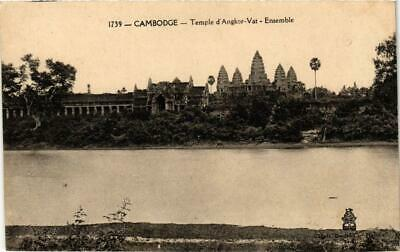 CPA Temple d'Angkor Vat-Ensemble. CAMBODGE Indochine (714965)