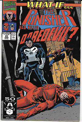 1991 What If The Punisher Had Killed #26 VF+ Marvel Comics FREE BAG/BOARD