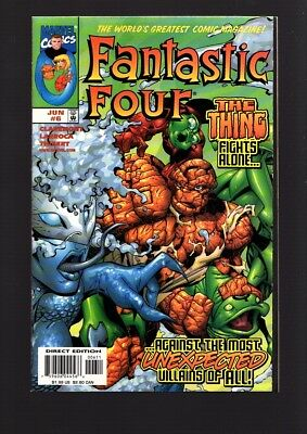 Fantastic Four Us Marvel Classics Comic Vol.1 # 6/`98