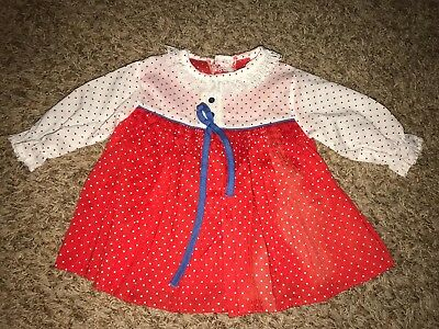 Baby Girls Toddlers Vintage baby dress sz 2T cute