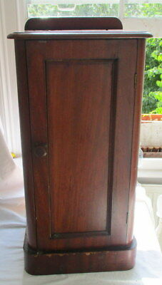 Victorian  mahogany night cupboard
